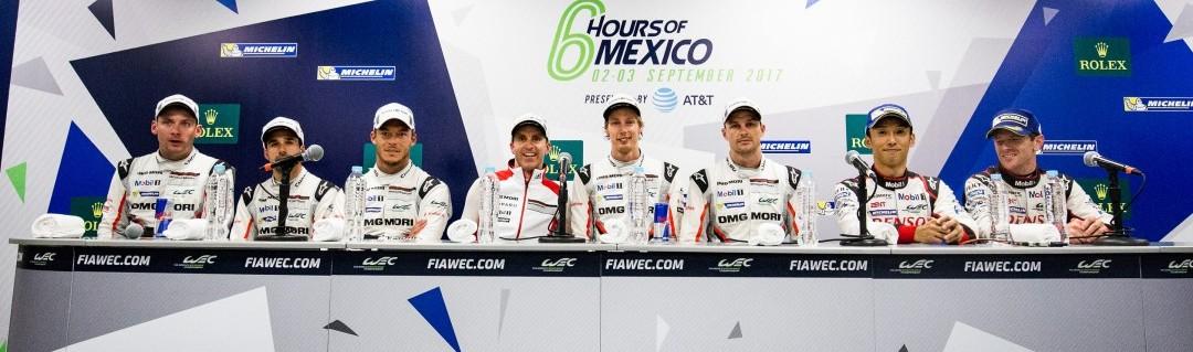 Les classements provisoires WEC 2017 après Mexico : les écarts se resserrent