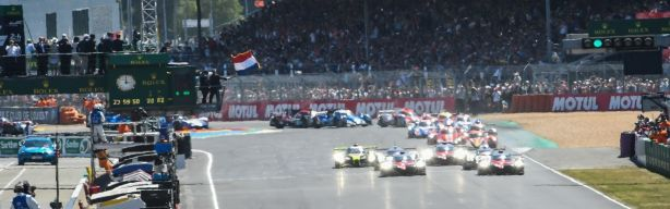 Latest news from Le Mans- new start point revealed