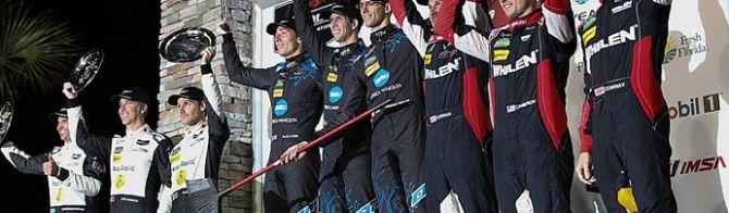 Congratulations to Alex Lynn - endurance winner!