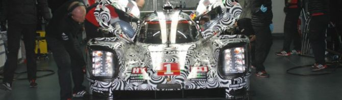 Positive Porsche Test in Spain