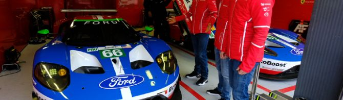 Ford and Ferrari have new cars for 2017 WEC season