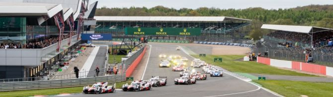 Toyota leads first two hours at Silverstone