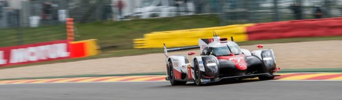 Toyota beats Porsche by just 0.036s in Free Practice 1 at Spa