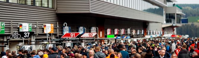 Fans flood to Spa for the WEC 6 Hour race