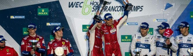 What the LMP2 and GTE class winning drivers said after the race