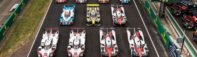 The 60 Le Mans contenders all together for the first time!