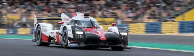 Toyota 1-2-3 after Le Mans test day