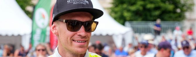 VIDEO - 24 Hours of Le Mans - interview with ByKolles Racing's Oliver Webb