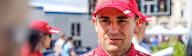 VIDEO - 24 Hours of Le Mans - interview with Ferrari's Davide Rigon