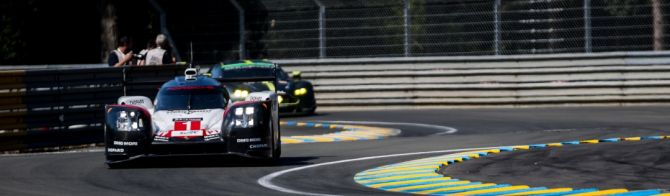 24H Le Mans Free Practice session: Porsche and Toyota tight at the top