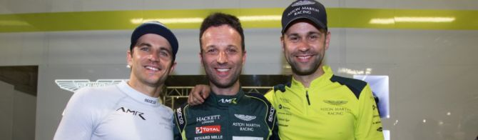 Aston Martin Racing to lead away tight GT battle at Le Mans