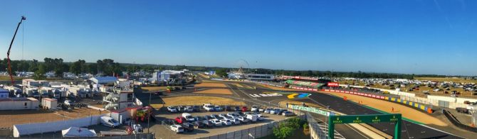 Good Morning from Le Mans : It's Race Day!