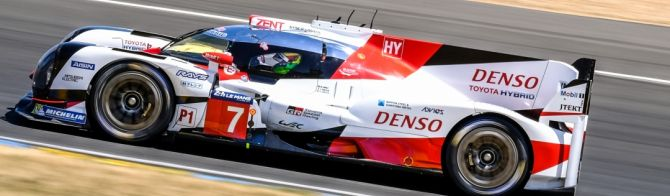 24H Le Mans 6 hour report: Toyota heads the field