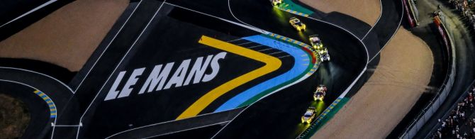 24H Le Mans 18 Hour report:  Porsche lead unpredictable race