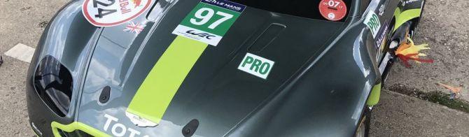 Aston Martin Racing's new Vantage for 2018...?