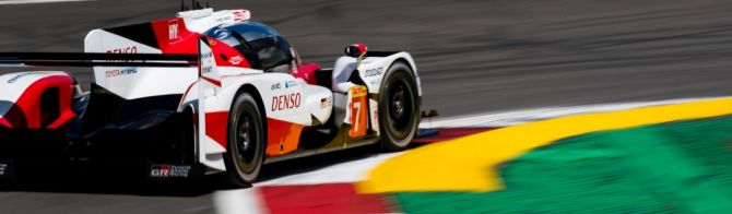 Toyota fight back in final Free Practice session