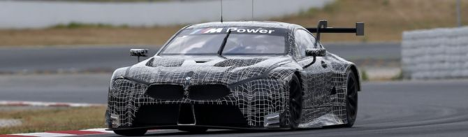 BMW M8 GTE: Test programme continues in Spain