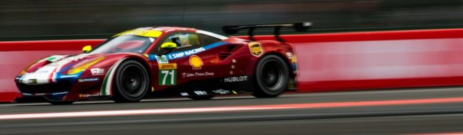 Ferrari lead thrilling GT qualifying for pole in Mexico