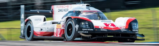 Porsche heads Toyota in first track action at COTA