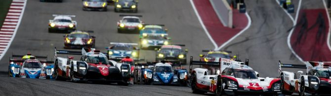 Porsche move back to the front in tight strategic battle; Ferrari in control of LMGTE Pro