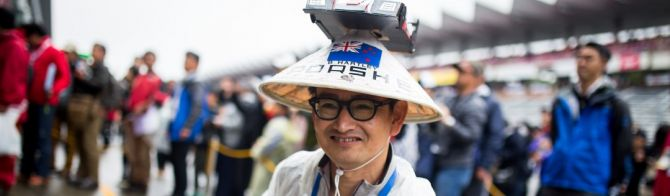 Rain doesn't deter passionate Japanese fans at 6 Hours of Fuji (9 photos)