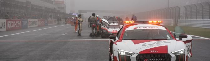 6 Hours of Fuji: Race resumed behind the safety car after 34 minutes red flag period
