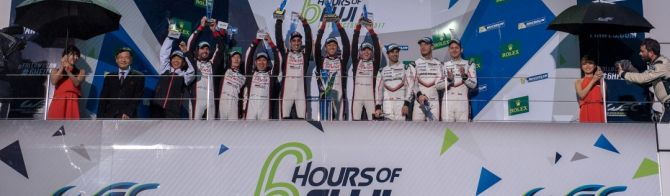 Toyota takes home 1-2 after incident filled Fuji race