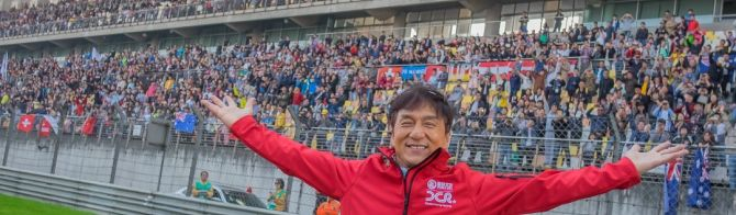 Jackie Chan bringing fans to 6 Hours of Shanghai