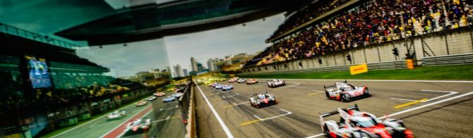 Toyota runs 1-2 after 2 Hours in Shanghai; Porsche leads LMGTE Pro