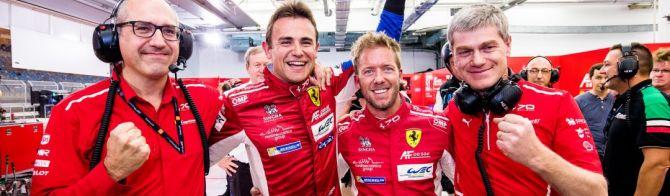 Ferrari claims critical GTE Pole; Aston Martin take 7th Am pole point of the season
