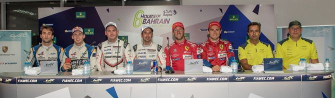 What the Drivers said after Qualifying at Bahrain