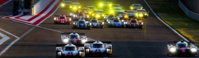 Drama throughout first two hours: Toyota lead in the desert