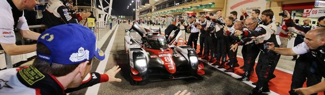 Toyota confirms its return to WEC in 2018-19