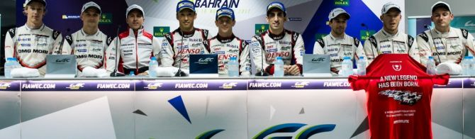 Bapco 6 Heures de Bahreïn : les réactions du podium LMP1