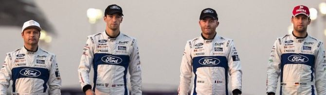Ford reconfirms WEC driver line up