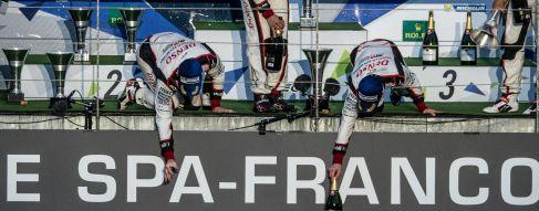 Spa-Francorchamps : les réactions du podium LMP1