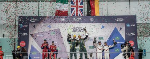 Aston Martin wins in Mexico; Dempsey Proton extend points lead
