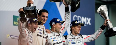Bernhard, Bamber and Hartley take hat-trick win